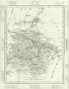 ARDENNES: Ardennes dpartement. Tardieu, 1830 antique map